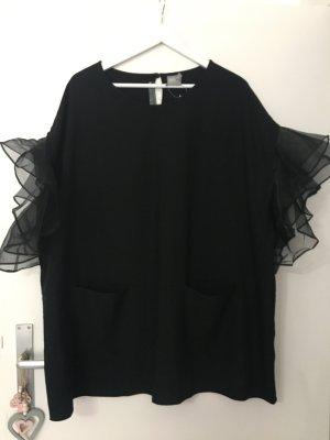 asos curve T-shirt zwart