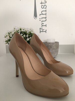 Alisha High-Front Pumps sand brown leather