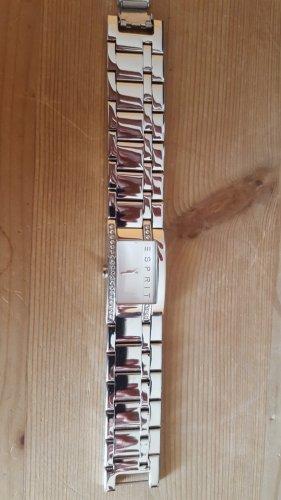 Esprit Zegarek z metalowym paskiem srebrny Metal