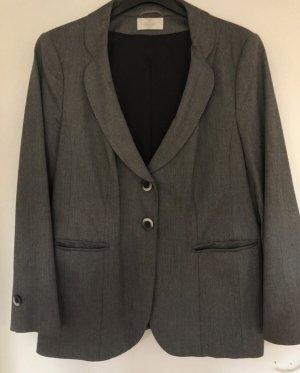 Sehr eleganter Blazer Jacket von Elegance Paris Grau Silber Dunkelgrau 44