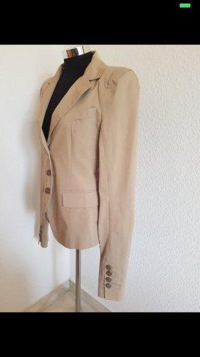 Sehr eleganter Blazer von Patrizia Pepe ital. 46 (D 38 )sandfarben
