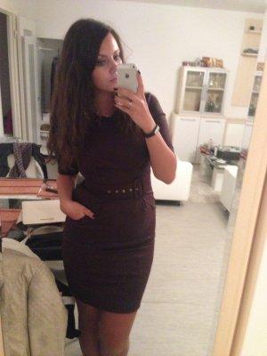 Sehr elegantes Qualitätskleid aus Italien NP €270 ITALY, MILANO DE42