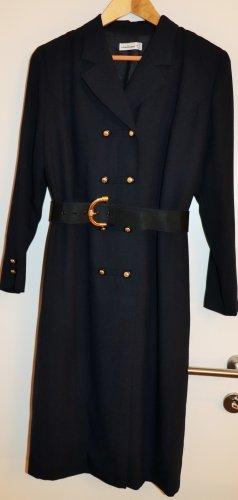 Schneberger Vestido de lana marrón arena-negro Lana