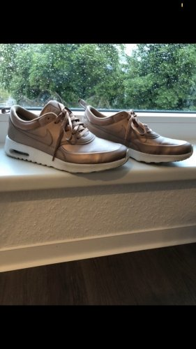 Nike Lace-Up Sneaker bronze-colored-gold-colored
