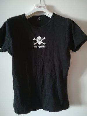 Sehr guter Zustand: ST. PAULI T-Shirt, Gr. 38, Baumwolle