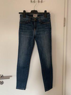 Current/elliott Jeans cigarette bleuet coton