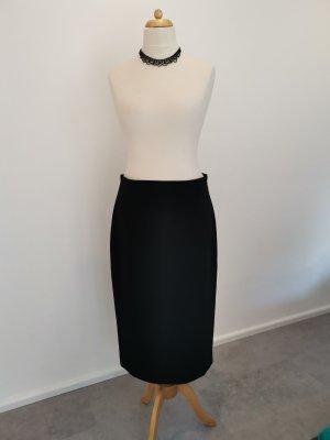 Hallhuber Falda larga negro