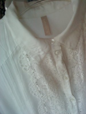 B.young Shirt Blouse white cotton