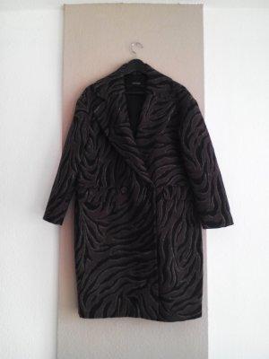 sehr hübscher Mantel in Animalprint, Grösse S oversize