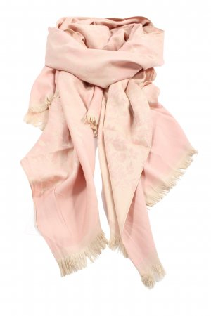 Sehr-i Sal Fringed Scarf pink-cream abstract pattern casual look