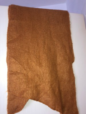 0039 Italy Cashmere Scarf russet-bronze-colored