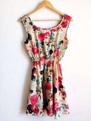 Sheinside Gabardina tipo vestido multicolor