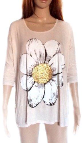 Lauren Moshi Print Shirt cream