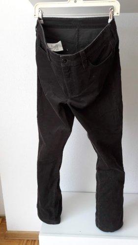 MAC Jeans Corduroy Trousers dark brown cotton