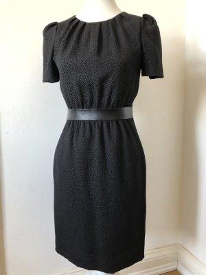 H&M Robe bustier noir polyester