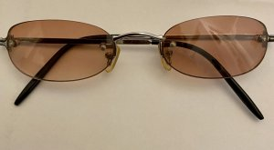 Oval Sunglasses rose-gold-coloured