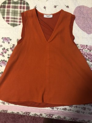 Axara Blouse sans manche orange