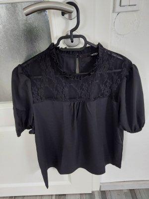 SheIn Blusa in merletto nero