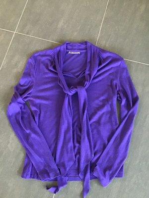 St. emile Tie-neck Blouse blue violet