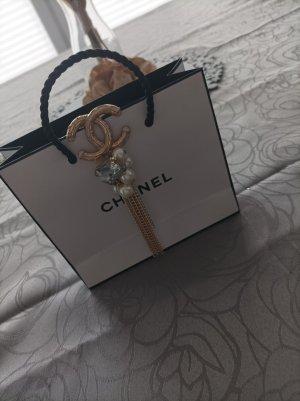 Chanel Broche argenté