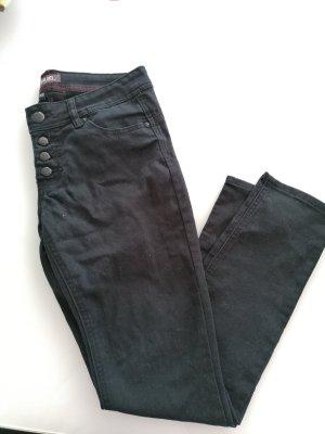 Blind Date Pantalon cigarette noir