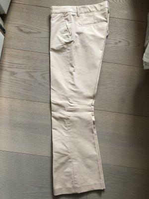 Schumacher Pantalon en jersey beige clair tissu mixte