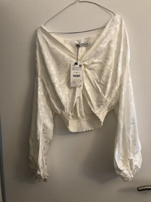 Sehr schöne Jaquard-Bluse