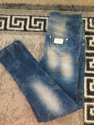 mexton Jeans a sigaretta azzurro