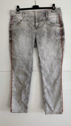 Street One Stretch Jeans light grey-grey mixture fibre