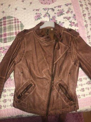 Black Swan Short Jacket cognac-coloured