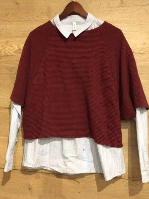 Vero Moda Cardigan en maille fine brun rouge