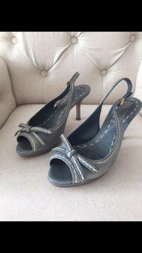 Sehr schöne Prada Schuhe für den Sommer in blau