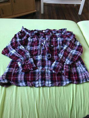 Mango Checked Blouse multicolored
