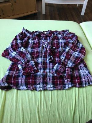 Sehr schöne schulterfreie Bluse