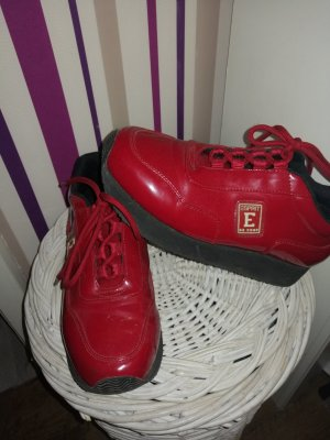 Esprit Heel Sneakers black-dark red