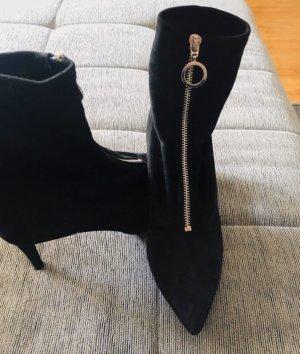 Sehr schöne Stiefeletten Pumps in schwarz Gr 40