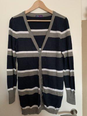 AJC Veste en tricot multicolore