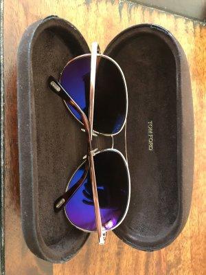 Sehr schöne Tom Ford Polarisierte Sonnenbrille Charles Aviator