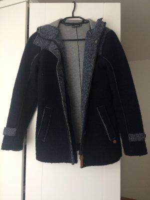 CMP Between-Seasons Jacket dark blue-light grey wool