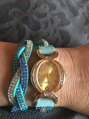 Reloj multicolor