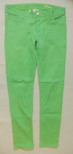 Sehr schöne und coole ADIDAS Neo Hüft-JEANS..skinny fit..hellgrün..Größe W29/L32, DE 36/38