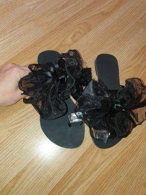 keine Sandalo infradito nero