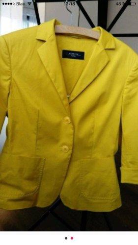 Sehr schönen Max Mara Blazer von Max Mara Größe 38 gelb(ocker)