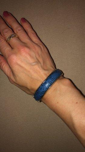 Christ Bangle srebrny-niebieski