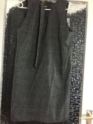 Mango Spódnica na ramiączkach ciemnobrązowy-srebrny