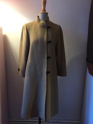 Cappotto in lana color cammello