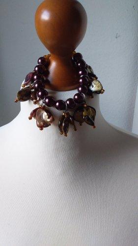 Charm Bracelet brown-black