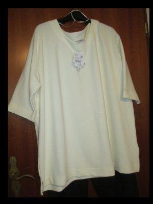 C&A Prążkowana koszulka jasnożółty Wiskoza