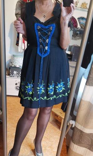 Original Steindl Vestido corsage negro-azul