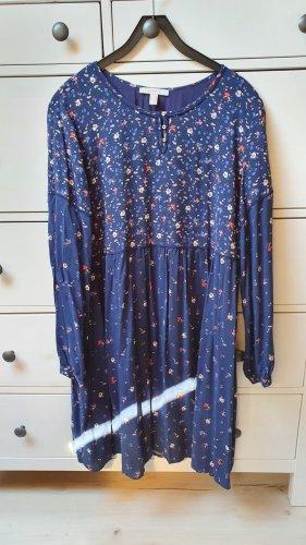 Esprit Robe Hippie bleu foncé-bleu viscose
